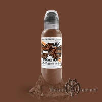 World Famous Tattoo Ink JAY FREESTYLE DARK BROWN
